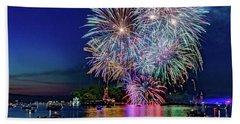 Fireworks Spectacular Beach Towel