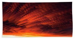 Fiery Sky 7 Beach Sheet