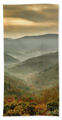 First Day Of Fall Highlands Beach Towel