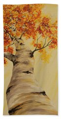 First Fall Light Beach Towel