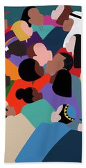 First Family The Obamas Beach Towel