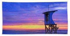 First Light On The Beach Beach Towel