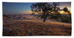 First Light On The  Canyon Ranch Beach Towel