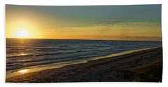 Beach Towel featuring the photograph First Light by Paul Mashburn