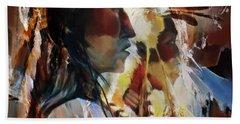 First Nation 67yu Beach Towel by Gull G