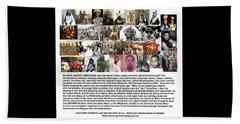 First Native Americans Were Indigo Twa Black Afrikans Beach Towel