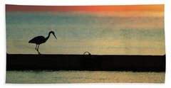 First On The Jetty Beach Towel