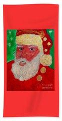 First Santa Claus 1773 Beach Sheet