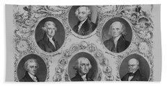 First Six U.s. Presidents Beach Towel