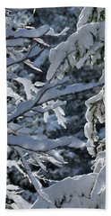 First Snow II Beach Towel
