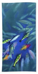 Fish Bowl Beach Towel