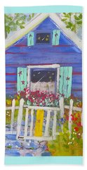 Fish Camp Cottage Beach Towel
