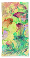 Fish Dreams Beach Towel by Rachel Christine Nowicki