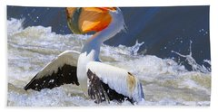 Fish For Dinner Beach Towel