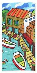 Fish House-cedar Key Beach Towel