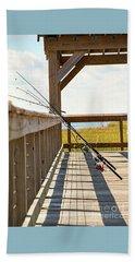 Fishing At Shem Creek Beach Sheet