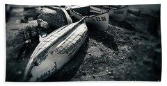 Fishing Boats At The Old Port Beach Sheet