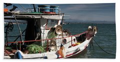 Fishing Beach Sheet by Bruno Spagnolo