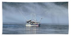Fishing In Alaska Beach Towel