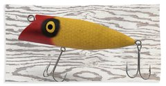 Fishing Line Digital Art Beach Towels