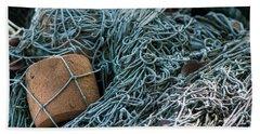 Fishing Nets Beach Sheet