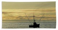 Fishing Off Santa Cruz Beach Sheet