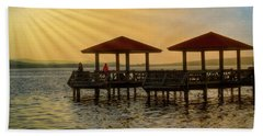 Fishing Pier Beach Towel