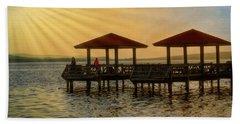 Fishing Pier Beach Sheet