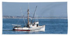 Fishing Vessel Sun Ra Beach Sheet