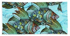 Fishy Fishy Beach Towel