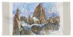 Fitz Roy, Patagonia Beach Sheet