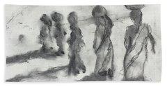 Five Women Immigrants Beach Towel