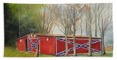 Flag Barn Beach Sheet