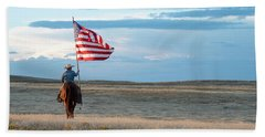Flag Of Freedom Beach Towel