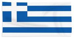Flag Of Greece Beach Sheet