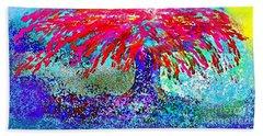 Flamboyan Beach Towel