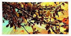 Flamboyant Nature 2 Beach Sheet by Shawna Rowe