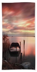 Flame In The Darkness Beach Towel