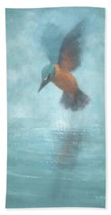 Flame In The Mist Beach Towel