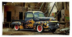 Flamed Pickup Beach Sheet