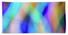 Flames Of Iridescence Beach Towel