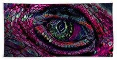 Flaming Dragons Eye Beach Sheet