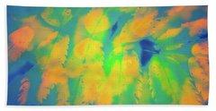 Flaming Foliage 2 Beach Towel