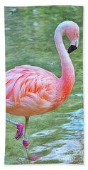 Flamingo 39 Beach Towel