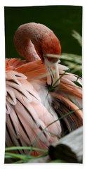 Flamingo Boudoir Beach Towel
