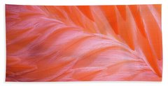 Flamingo Flow 1 Beach Towel by Michael Hubley