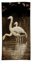 Flamingos Beach Sheet