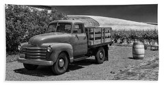 Flat Bed Chevrolet Truck Dsc05135 Beach Towel