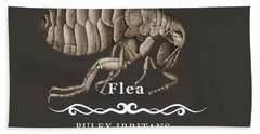 Flea Beach Towel
