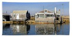 Fletchers Camp And The Little House Sandy Neck Beach Sheet